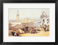 Framed Bullfight, Seville