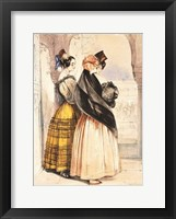 Las Dos Hermanas Framed Print