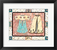 Dance in a Dress of the Four Winds Framed Print