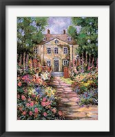 Framed Country Manor