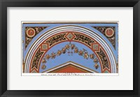 Detail/Loggia in the  Vatican II Framed Print