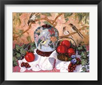 Framed Grapes and Pomegranates