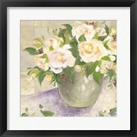 Framed Berries & Roses II