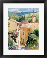 French Vineyards Framed Print