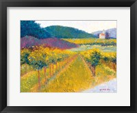 The Weingut Framed Print
