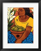 Bountiful Garden Framed Print