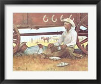 Noon Break Framed Print