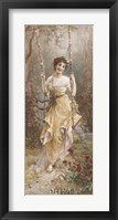 A Woodland Nymph Framed Print