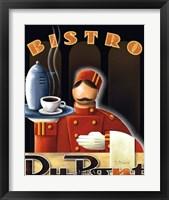 Bistro DuPont Framed Print