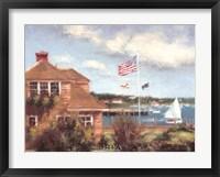 Edgartown Framed Print