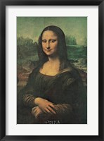 Framed Mona Lisa