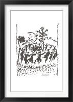 Vive la Paix Framed Print