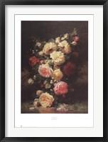 Framed Bouquet de Roses