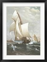 Framed Winning Yacht