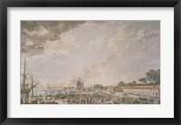 Framed Le Port de Rochefort