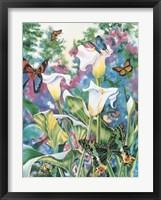 Butterfly Ballet Framed Print