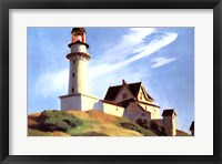 Framed Lighthouse at Two Lights