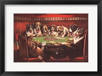 Framed Poker Sympathy