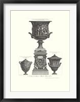 Framed Vaso Antico