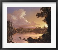Framed Scene on Catskill Creek