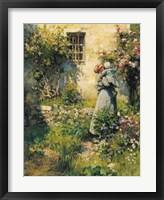 Framed Jardin de Paysanne