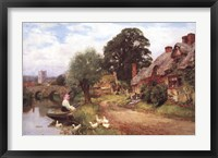 A Summer Idyll Framed Print