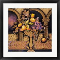 Memories of Provence/Lemons & Figs Framed Print