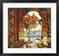 Golden Kilim II Framed Print