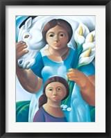 Framed La Maternidad