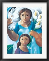 La Maternidad Framed Print