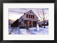 Framed Home for the Holidays