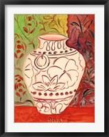 Framed Lotus Pot I