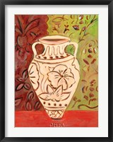 Lotus Pot II Framed Print