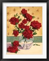 Rue Cler Roses I Framed Print