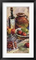 Framed Apples & Pomegranates