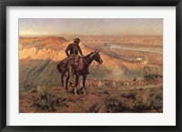Wagon Boss Framed Print