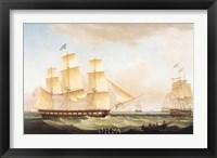 Framed Medina off Dover