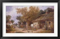 Framed Country Blacksmith, 1870