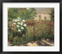 Framed Garden at Giverny, c. 1890