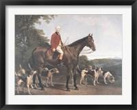 Mr. Williamson, Huntsman to His Grace Framed Print