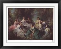 Framed Empress Eugenie