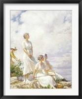 Framed Summer Clouds, 1917