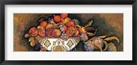 Framed Artichokes & Pomegranates/Moroccan Bowl