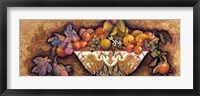 Figs & Lemons in a Moroccan Bowl Framed Print