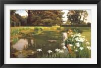 Framed Garden, Sutton Place, Surrey
