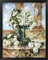 Framed Hydrangeas in Bloom