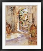Framed Italian Garden Wall