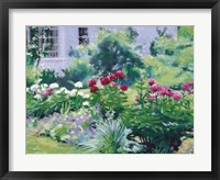 Summer's First Blooms Framed Print