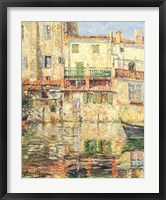 Framed Villefranche