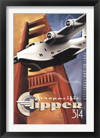 Clipper 314 Framed Print